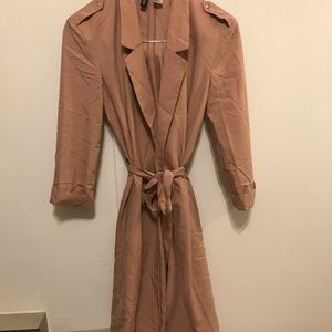 Divided by H&M fashion lightweight long trenchcoat